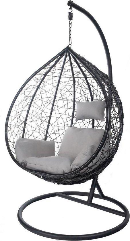 Egg Hangstoel Hangover - Zwart