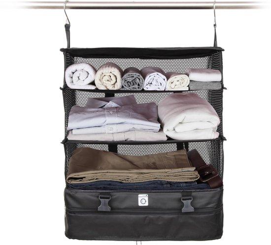 TravelZ Kledingkast organizer   Packingcube   Handbagage   Opvouwbaar   Bespaar 30%   Reisaccessoire