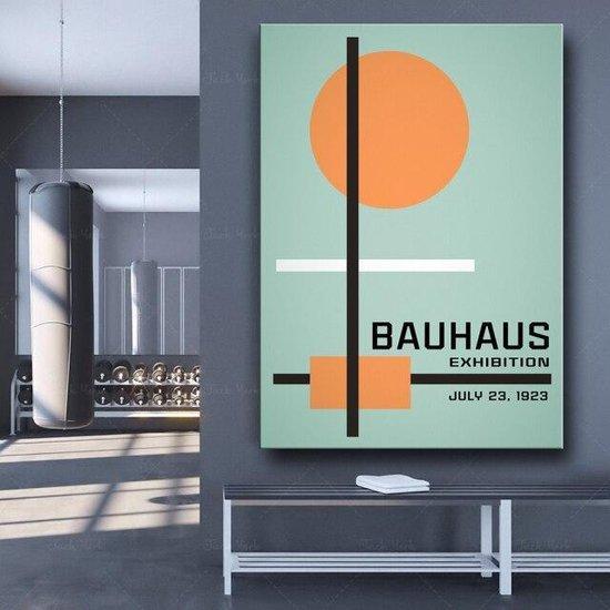 Bauhaus 1923 Exhibition Wall Art Poster 1 - 50x70cm Canvas - Multi-color