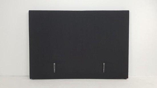 Hoofdbord 180 Basic zwart incl beugelset