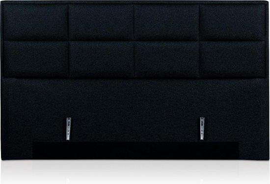 Hoofdbord Casper 160 cm Breed Zwart inclusief beugelset